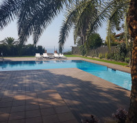 Creació d'un projecte d'exterior amb piscina i gimnàs